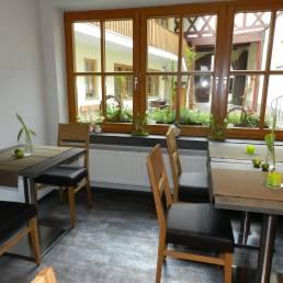 Frühstücksraum Gästehaus Kohles